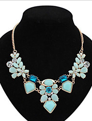 New Arrival Fashional Hot Sellign Popular Geometric Gem Necklace