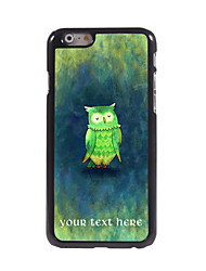 Personalized Gift The Owl Design Aluminum Hard Case for iPhone 6