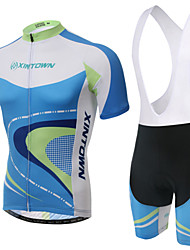 Cycling Jersey with Bib Shorts Women's Short Sleeve Bike Breathable / Wearable / 3D Pad / Back PocketBib Shorts / Jersey / Shorts /