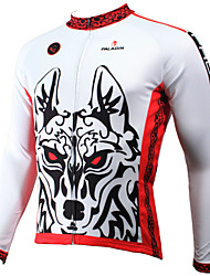 PaladinSport Men's Long Sleeve Cycling Jersey New Style CX400 Wolf 100% Polyester