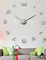 Relógio de parede - Moderno/Contemporâneo - Inovador - DE Acrilico/Metal
