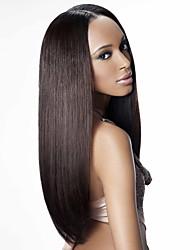 Custom(28 day) Human hair  lace wigs for  women Brazilian virgin hair Straight human hair color(#1 #1B #2 #4)