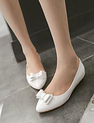Women's Shoes Flat Heel Ballerina Flats Dress/Casual Blue/Yellow/Pink/White