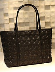 Handcee® Most Popular Simple Style Woman PU Quilting Tote Bag