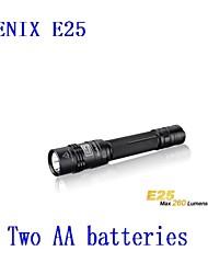 Lanternas LED ( Emergência ) - Para Campismo / Escursão / Espeleologismo - LED 3 Modo 260LM Lumens AA Cree XP-E R2 Bateria Fenix 手电筒
