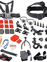 41-in-1 quente ao ar livre Acessórios para a câmera esportes kit para GoPro Hero 4/3 + / 3 / 01/02