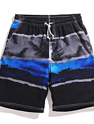 Men's Surf Board Shorts Quick Dry Beach Swimwear Pants(Polyester)