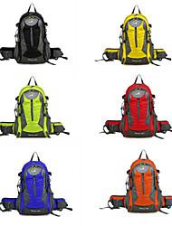 Pacotes de Mochilas/Mochilas de Escalada/Ciclismo Mochila/Viagem Duffel ( Amarelo/Verde/Vermelho/Preto/Azul/Como na Foto , 35 L) Á