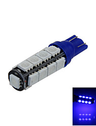 1X Blue T10 17 SMD 5050 LED Car Clearance Backup Lamp Roof Light DC 12V A014