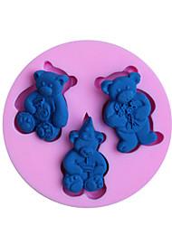 moldes de cozimento suportar fondant molde do bolo decoração do molde