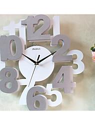 Reloj de pared - Madera - Moderno/Contemporáneo - Madera
