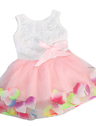 Children Kids Girls Baby Sleeveless Tulle Summer Sundress Dress Clothes
