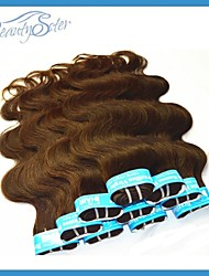 "2Kg Wholesale Combination Brazilian Human Hair Dark Brown Color Body Wave Style 14""~22"" Top TO Bottom Grade5A"