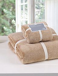 AIWODE® 100% Cotton Bath Towel Set with Bath Towel&Wash Towel