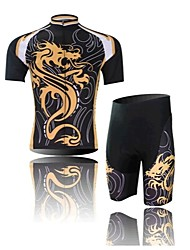 Dragon Riding Short Sleeved Suit, Moisture Cycling Wear, Motor Function Material