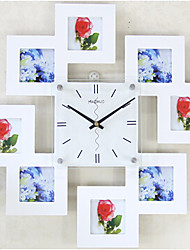 Modern Minimalist Living Room Bedroom Office Square Wall Clock