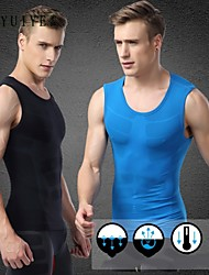 YUIYE®Men Quick Dry Gym Bodybuilding Tank Top Fitness Sports Compression Sleeveless T Shirt Vest Tank Tops Tights