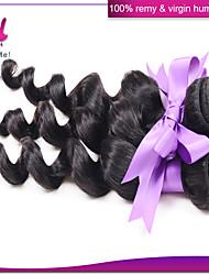 Peruvian Loose Wave 3pcs Peruvian Virgin Hair Loose Curly Top Quality Peruvian Human Hair Weave Bundles