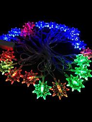 2w 4 metro lampadina diametro esterno 20pcs portato luci modellazione illuminazione stringa anice stellato, colore rgb