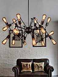 lustres maishang® mini-estilo rústico / lodge / retro sala de estar / quarto / sala de jantar / sala de estudo / escritório de metal
