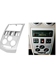 coche fascia radio para renault logan Tondar 90 dvd Panel facia instalar cd kit de ajuste
