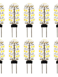 2W 26PCS 3528SMD G4 LED Bulb Light with DC12V Input, Warm White/Cool White Input