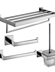 Badezimmer Zubehörset/Handtuchringe/Klosettpapierrollehalter/Toilettenbürstehalter/Handtuchtrockner Zeitgenössisch - Wand befestigend