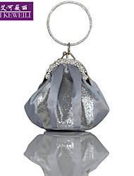 AIKEWEILI®Women's Evening Bag Fashion Silk Mini Totes Small Bag Korean Style Clutch Bag Bride Party Bag