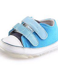 Baby boys girls Shoes Outdoor/Casual Canvas toddlers trainers Fashion Sneakers Blue