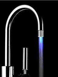 azul fregadero de la cocina llevó la boquilla del grifo grifo