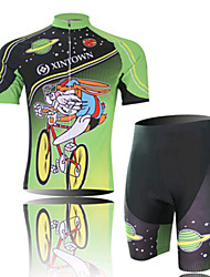 A Fast Cycling Wear Short Sleeved Suit, Moisture Cycling Wear, Motor Function Material