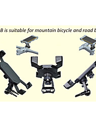 Mountain Bike Phone holder 360 Degree Rotating Road Bicycle Phone Mount Holder PB02-B Suitable for 3-7'' Mobile