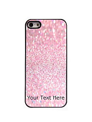 Personalized Gift Pink Sand Design Aluminum Hard Case for iPhone 4/4S
