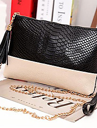 MEGA Women's  Tassel Bag Clutch Bags Day Shoulder Messenger Bag