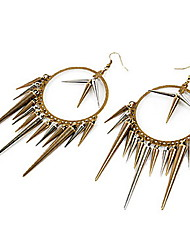 Damen Ohrring Legierung Drop Earrings