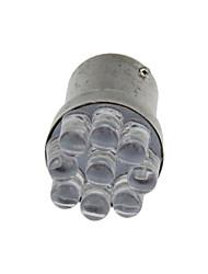 2X White 1157 BAY15D 9 In-line LED Brake Turn Signal Rear Light Bulb Lamp  DC 12V E025