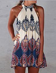 Collins Women's Sexy/Beach/Casual/Cute Sleeveless Dresses (Cotton Blend)