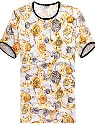 2015 Top Quality Men's Short Sleeve T-Shirt printing Hot Sell Hip Hop