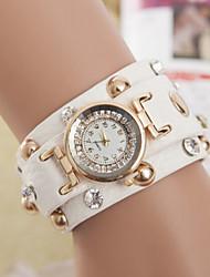 Women's Watches European And American fFashion Ladies Punk Rivet Bracelet Watch Chain Belt Winding Watch Cool Watches Unique Watches