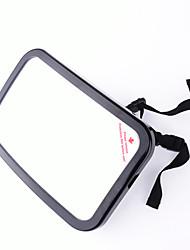 specchio bambino auto rettangolo nero bambino regolabile specchio di sicurezza