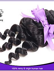 7a cheveux indiens d'onde lâche vierge lâche lot non transformés faisceaux de cheveux en vrac de cheveux pas cher d'onde extensions de
