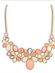 New Arrival Fashional Popular Geometric Gem Necklace