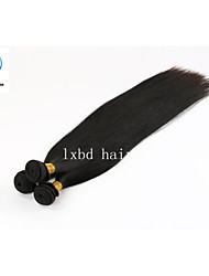 Best Selling Three Bundles Natural Color Silky Straight Factory Wholesale Price 100% Peruvian Remy Human Hair Weave