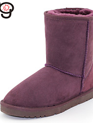 MG Women's Classic Twinface Sheepskin Boot Real Fur Winter