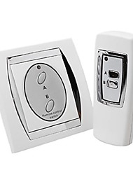 New 2 Channel RF Wireless Remote Control Switch Output For Lighting 220V or 110V
