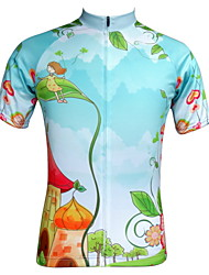 JESOCYCLING Women's Short Sleeve Spring And Summer Breathable Cycling Jersey