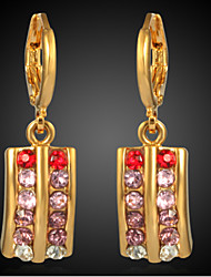 Meike Women's European Style High Quality Gold-plated Earrings