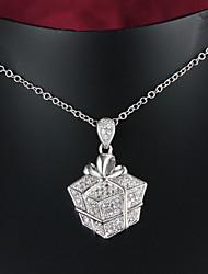 festa de venda quente / ouro ocasional banhado a marca de jóias colar de pingente de moda para as mulheres