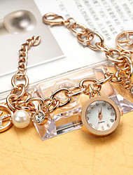 Women's Watches The Marble Mirror Lady Diamond Hand Pure Quartz Watch List Cool Watches Unique Watches