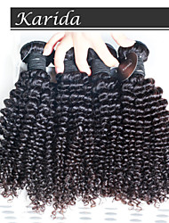 4 pcs/Lot Unprocessed Virgin Queen Brazilian Human Hair, Malaysian Deep Curly Wavy  Remy Hair